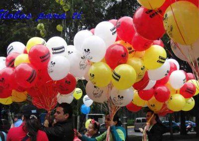Impresión con globos látex